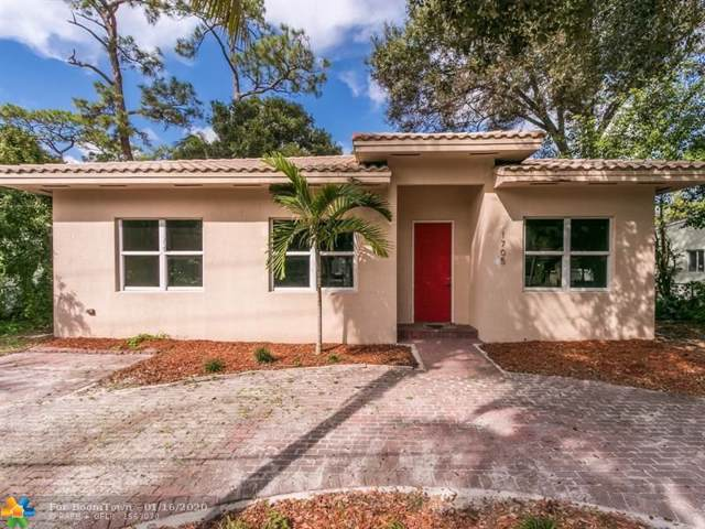 1705 SW 14 CT, Fort Lauderdale, FL 33312 (MLS #F10212100) :: The O'Flaherty Team