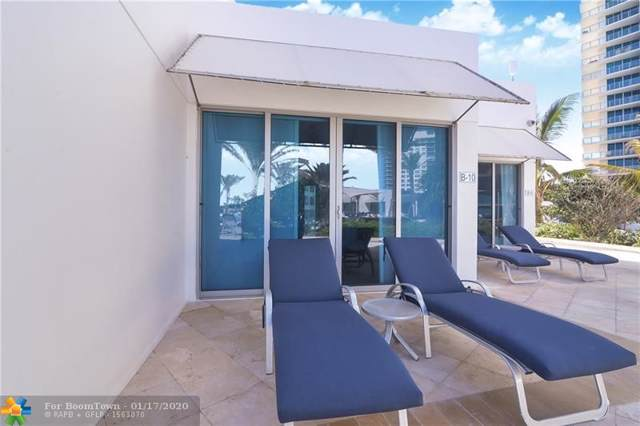 3101 S Ocean Dr B10, Hollywood, FL 33019 (MLS #F10212291) :: Berkshire Hathaway HomeServices EWM Realty