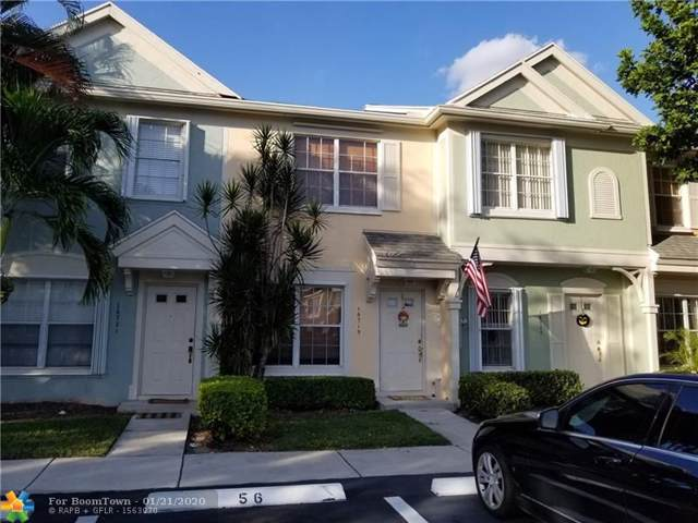 16719 Hemingway Dr #16719, Weston, FL 33326 (#F10212716) :: Adache Real Estate LLC