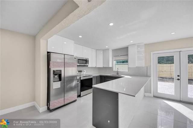 310 NE 49th St, Oakland Park, FL 33334 (MLS #F10212919) :: Green Realty Properties
