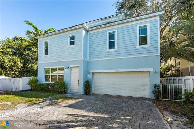 513 SW 5th Ave, Fort Lauderdale, FL 33315 (MLS #F10212984) :: The O'Flaherty Team