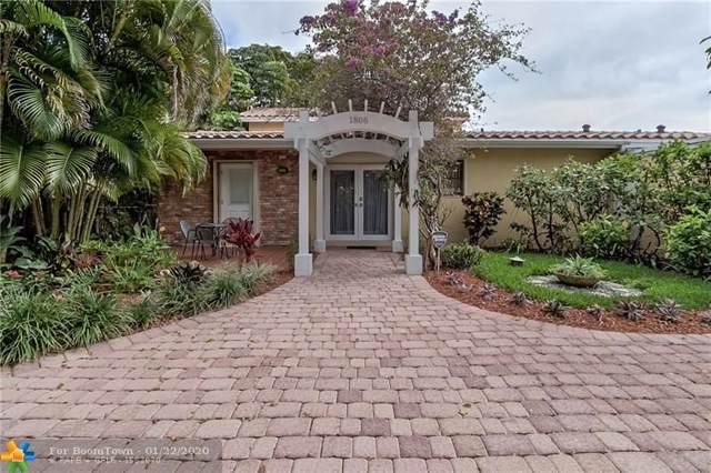 1806 NE 22nd Ter, Fort Lauderdale, FL 33305 (MLS #F10212998) :: Green Realty Properties