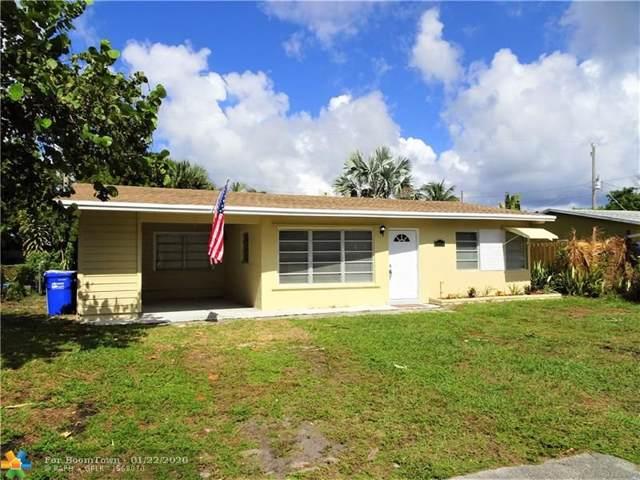 1449 NE 29th St, Pompano Beach, FL 33064 (MLS #F10213067) :: Berkshire Hathaway HomeServices EWM Realty
