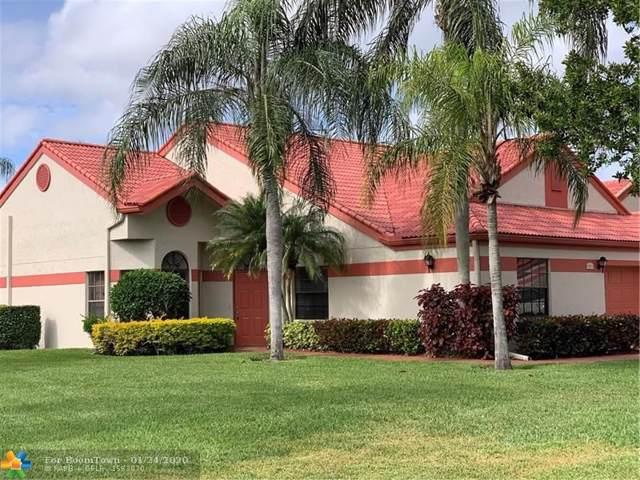 7601 Lexington Club Blvd A, Delray Beach, FL 33446 (#F10213100) :: Dalton Wade