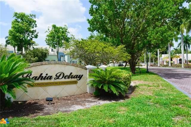 1030 Crystal Way Drive 8F, Delray Beach, FL 33444 (#F10213533) :: Dalton Wade