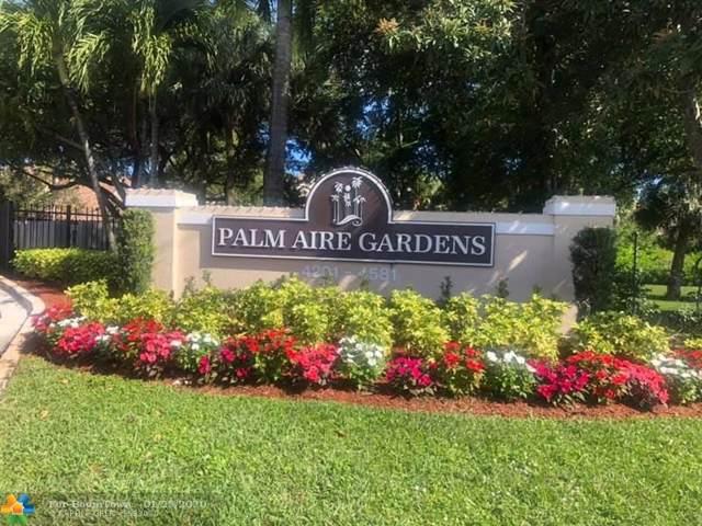 4521 W Mcnab Rd #22, Pompano Beach, FL 33069 (MLS #F10213595) :: GK Realty Group LLC
