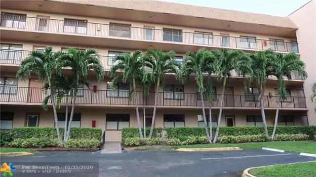 2981 N Nob Hill Rd #107, Sunrise, FL 33322 (MLS #F10213609) :: Green Realty Properties