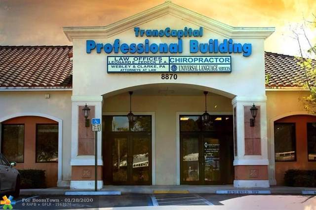 8870 W Oakland Park Blvd, Sunrise, FL 33351 (MLS #F10213964) :: The Paiz Group