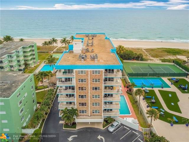 1770 S Ocean Blvd #608, Lauderdale By The Sea, FL 33062 (MLS #F10214083) :: Berkshire Hathaway HomeServices EWM Realty