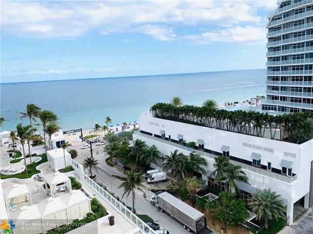 505 N Fort Lauderdale Beach Blvd #1105, Fort Lauderdale, FL 33304 (MLS #F10214479) :: Laurie Finkelstein Reader Team