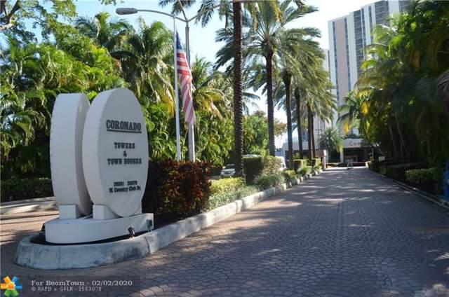 20379 W Country Club Dr #1739, Aventura, FL 33180 (MLS #F10214786) :: Green Realty Properties