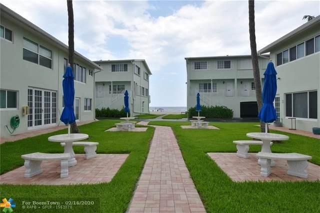 5400 N Ocean Blvd #17, Lauderdale By The Sea, FL 33308 (MLS #F10214825) :: Green Realty Properties