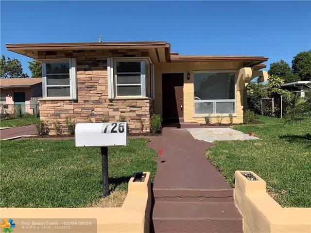 726 SW 4th St, Dania Beach, FL 33004 (MLS #F10215132) :: Castelli Real Estate Services