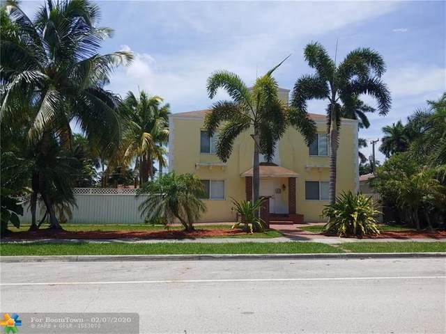 1230 Harrison St, Hollywood, FL 33019 (MLS #F10215350) :: Green Realty Properties