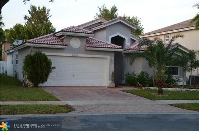 13841 NW 22nd St, Sunrise, FL 33323 (MLS #F10215879) :: The Paiz Group