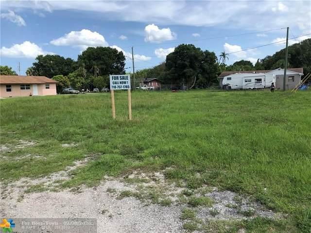 0 Avenue K, Fort Pierce, FL 34950 (MLS #F10215983) :: Berkshire Hathaway HomeServices EWM Realty