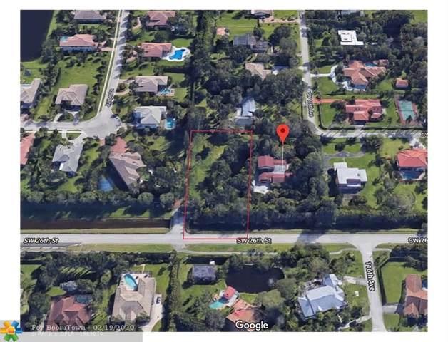 26 Sw St, Davie, FL 33330 (MLS #F10216214) :: Berkshire Hathaway HomeServices EWM Realty