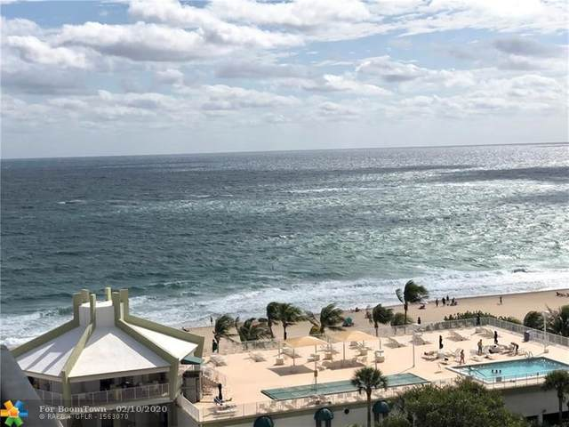 101 Briny Ave #1210, Pompano Beach, FL 33062 (MLS #F10216231) :: Green Realty Properties