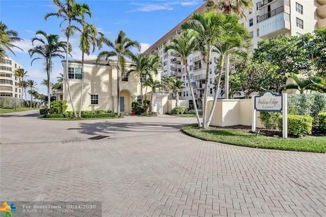 1153 N Hillsboro Mile #6, Hillsboro Beach, FL 33062 (MLS #F10216413) :: RE/MAX