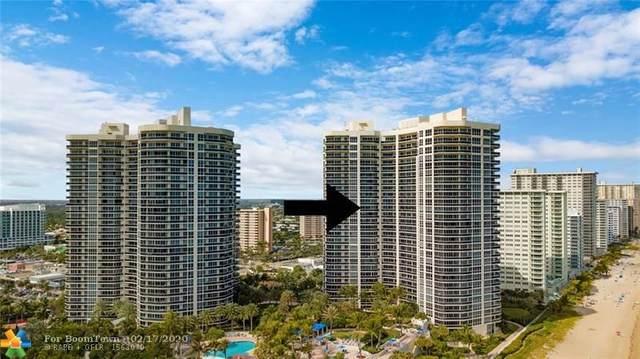 3200 N Ocean Blvd #1807, Fort Lauderdale, FL 33308 (MLS #F10216497) :: Berkshire Hathaway HomeServices EWM Realty
