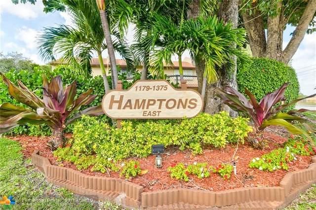 1207 Hampton Blvd #1207, North Lauderdale, FL 33068 (MLS #F10216668) :: Green Realty Properties