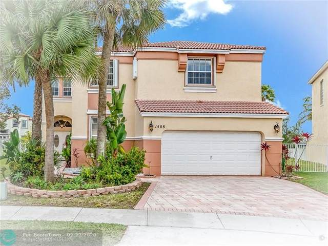 1408 NW 157th Ave, Pembroke Pines, FL 33028 (MLS #F10216775) :: Castelli Real Estate Services