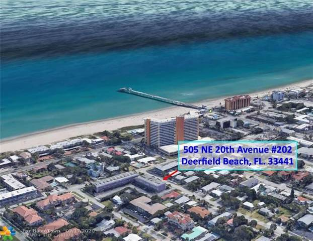 505 NE 20th Ave #202, Deerfield Beach, FL 33441 (#F10217092) :: Dalton Wade