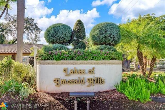 3906 Flamewood Ln #218, Hollywood, FL 33021 (MLS #F10217134) :: Berkshire Hathaway HomeServices EWM Realty