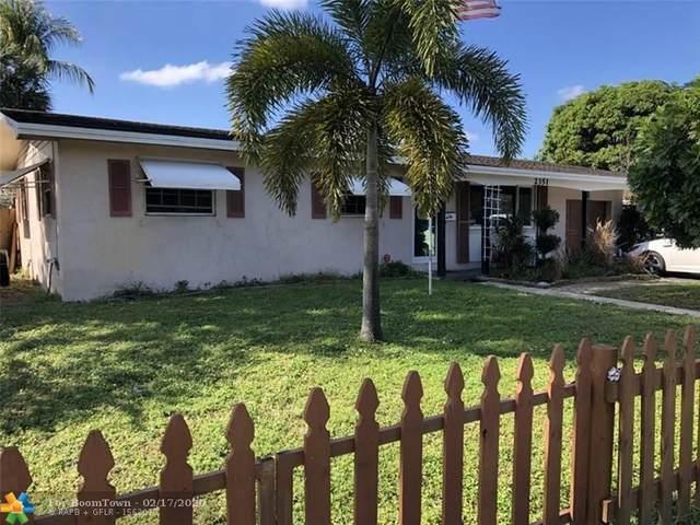 2351 SW 31st Ave, Fort Lauderdale, FL 33312 (MLS #F10217278) :: Berkshire Hathaway HomeServices EWM Realty