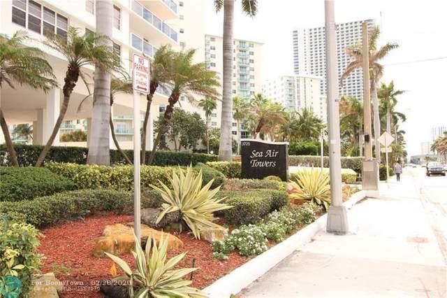 3725 S Ocean Dr #1106, Hollywood, FL 33019 (MLS #F10217714) :: Berkshire Hathaway HomeServices EWM Realty