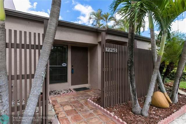 12251 NW 10th St #12251, Pembroke Pines, FL 33026 (#F10217781) :: Real Estate Authority