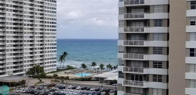 1985 S Ocean Dr 10Q, Hallandale, FL 33009 (MLS #F10218165) :: Green Realty Properties