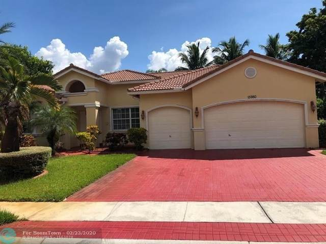 15980 SW 4th St, Pembroke Pines, FL 33027 (MLS #F10218179) :: THE BANNON GROUP at RE/MAX CONSULTANTS REALTY I