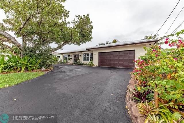 1416 NE 55th St, Fort Lauderdale, FL 33334 (MLS #F10218294) :: Berkshire Hathaway HomeServices EWM Realty