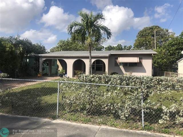 1035 NW 11th Ct, Fort Lauderdale, FL 33311 (MLS #F10218309) :: Green Realty Properties