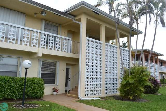 1340 NW 19th Ter #104, Delray Beach, FL 33445 (MLS #F10218342) :: The O'Flaherty Team