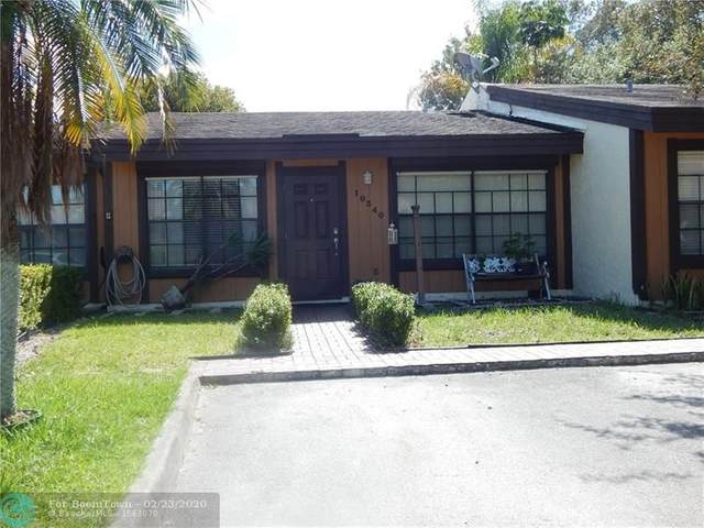 10340 Fig Ct, Pembroke Pines, FL 33026 (MLS #F10218358) :: THE BANNON GROUP at RE/MAX CONSULTANTS REALTY I