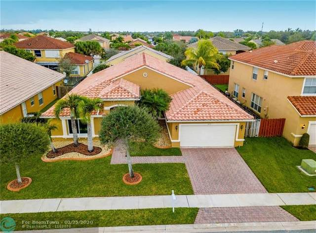 1075 SW 191st Ln, Pembroke Pines, FL 33029 (#F10218578) :: Real Estate Authority