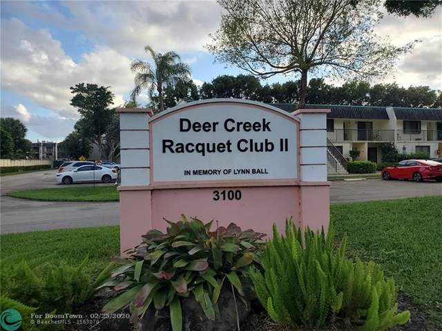 3100 Deer Creek Country Club Blvd #106, Deerfield Beach, FL 33442 (#F10218591) :: Realty100