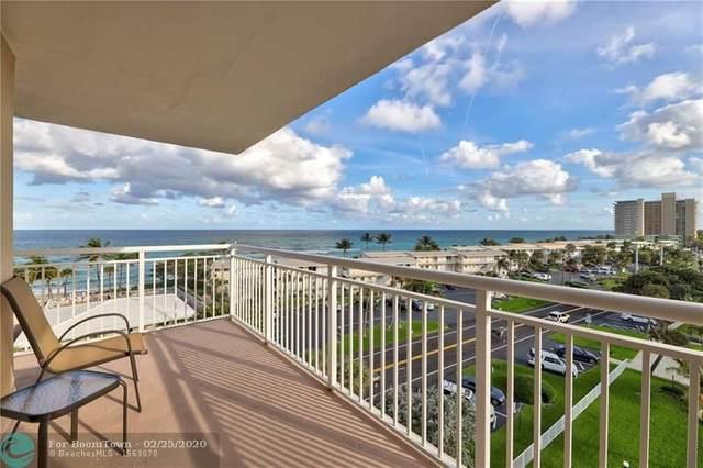 1050 SE Hillsboro Mile #701, Hillsboro Beach, FL 33062 (MLS #F10218660) :: RE/MAX