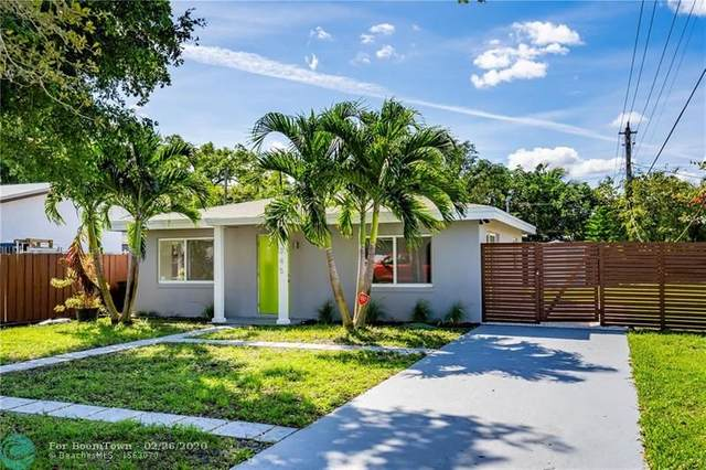 1345 NW 4th Ave, Fort Lauderdale, FL 33311 (MLS #F10218801) :: Green Realty Properties