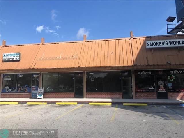 2127/2129 Stirling Rd, Fort Lauderdale, FL 33312 (MLS #F10218817) :: Green Realty Properties