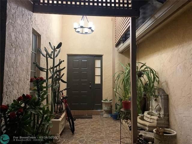 9653 NW 45th St, Sunrise, FL 33351 (MLS #F10218846) :: Berkshire Hathaway HomeServices EWM Realty