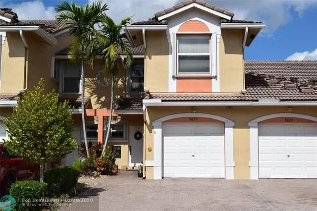 9057 NW 55th St #9057, Sunrise, FL 33351 (MLS #F10219259) :: Berkshire Hathaway HomeServices EWM Realty
