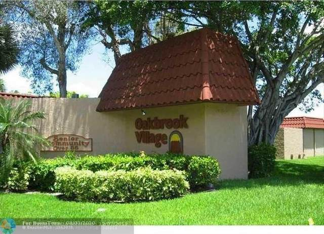 8100 SW 24th St #303, North Lauderdale, FL 33068 (MLS #F10219670) :: The O'Flaherty Team