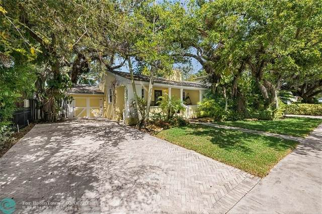 1215 Ponce De Leon Dr, Fort Lauderdale, FL 33316 (MLS #F10219993) :: The Howland Group
