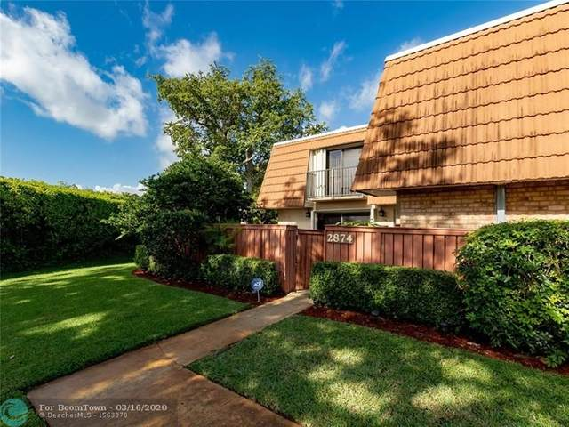 2874 Waterford Dr S. #2874, Deerfield Beach, FL 33442 (MLS #F10221489) :: THE BANNON GROUP at RE/MAX CONSULTANTS REALTY I