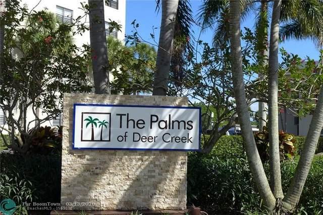 2440 Deer Creek Country Club Blvd #409, Deerfield Beach, FL 33442 (MLS #F10221583) :: Patty Accorto Team