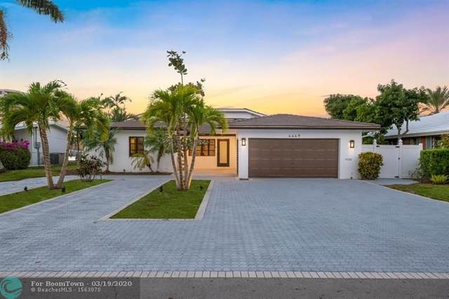 4449 W Tradewinds Ave, Lauderdale By The Sea, FL 33308 (MLS #F10222563) :: The Howland Group