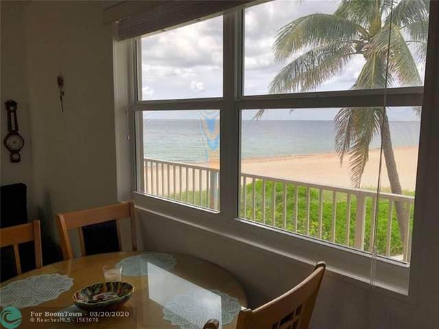 1480 S Ocean Blvd #321, Lauderdale By The Sea, FL 33062 (MLS #F10222705) :: The Howland Group